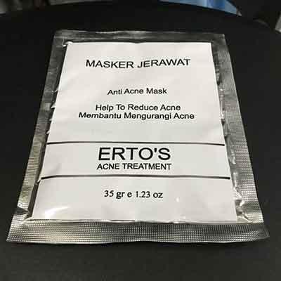 ertos-masker-jerawat