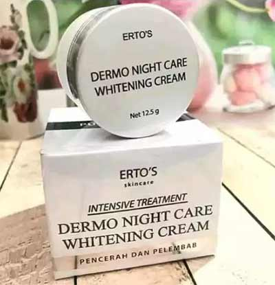 ertos-dermo-night-care-whitening-cream