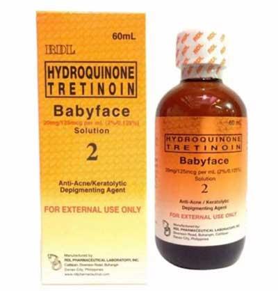 hidrokinon-baby-face