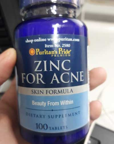 zinc-for-acne-puritan's-pride